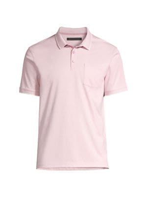 Genuine Mercedes Mens Tipped Cotton Polo