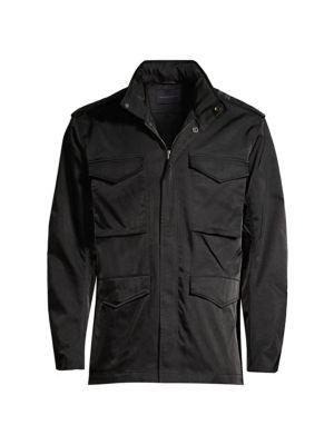John Varvatos Star USA Mens Long Sleeve 4 Pocket Field Jacket