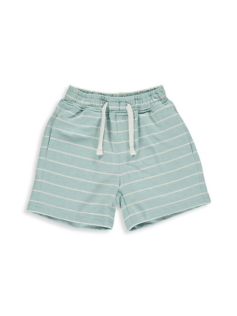 Baby's, Little Boy's & Boy's Stripe Jersey Shorts