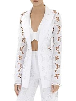 BCBGMAXAZRIA Womens Hedi Texture Blocked Jacket