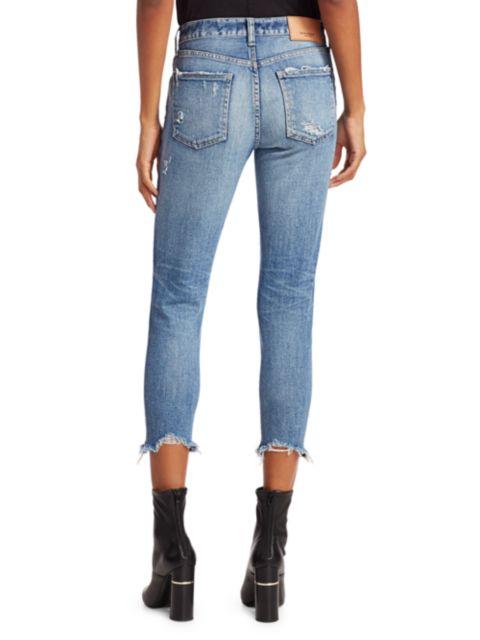 Moussy Vintage Glendele Distressed Skinny Jeans   SaksFifthAvenue