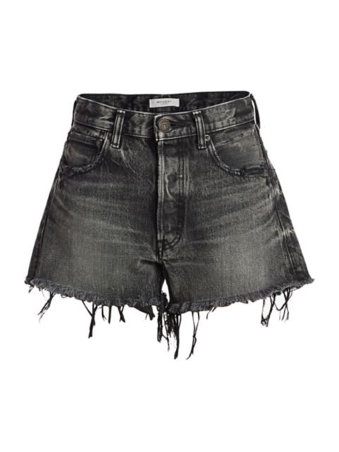 Moussy Vintage Perrysburg Denim Shorts | SaksFifthAvenue
