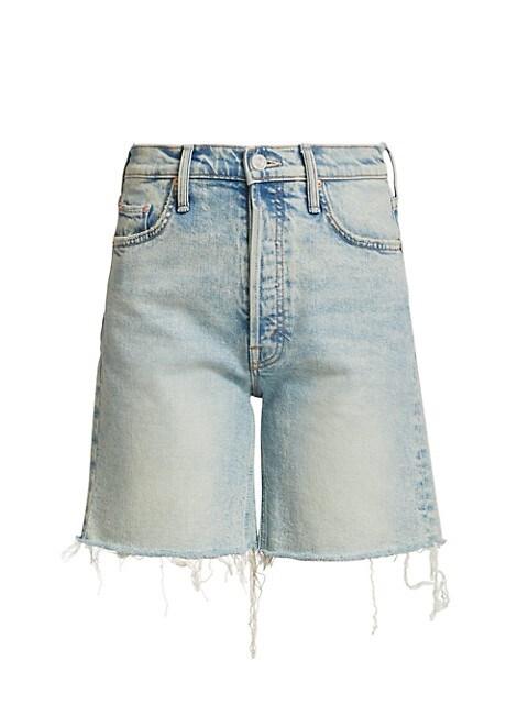 The Tripper Frayed Denim Shorts