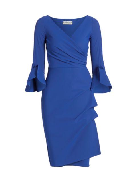 Chiara Boni La Petite Robe Trina Ruffle Sheath Dress | SaksFifthAvenue