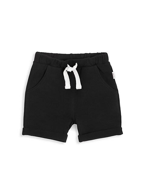 Baby's, Little Boy's & Boy's Roll Cuff Shorts