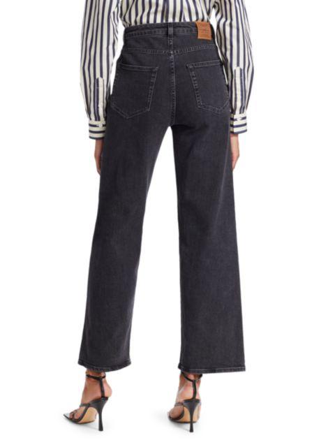 Toteme Flair High-Rise Jeans | SaksFifthAvenue