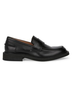 Bottega Veneta Brushed Leather Loafers