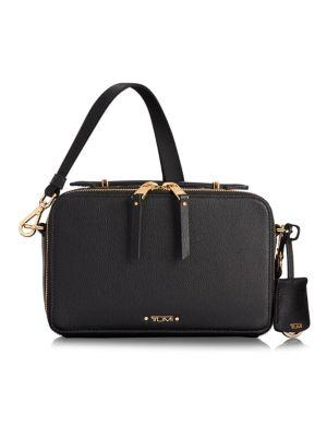 Tumi Voyageur Aberdeeen Leather Crossbody Bag