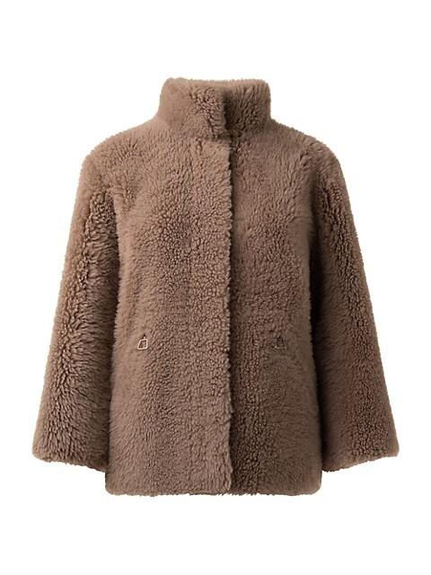 Lord Shearling Checkered Jacket