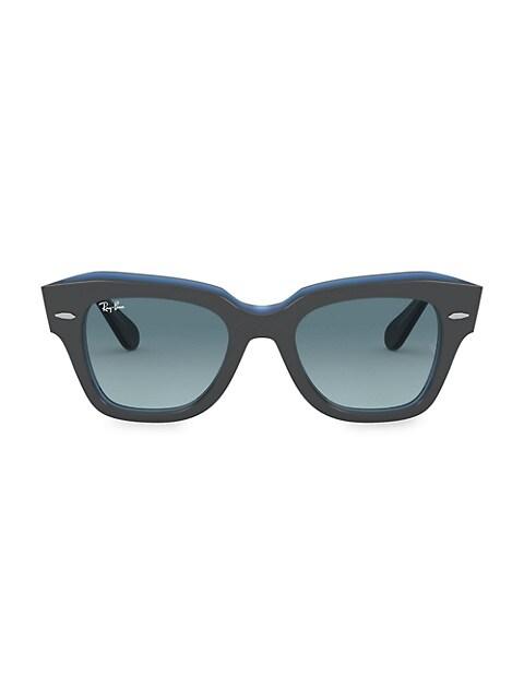 RB2186 49MM Wayfarer Sunglasses