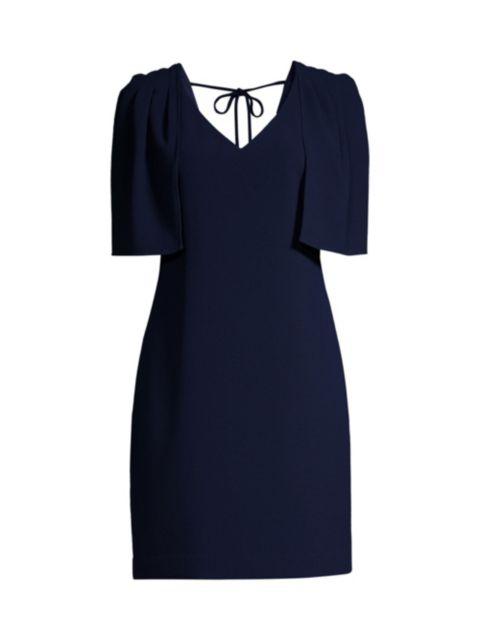 Trina Turk Tropical Tie-Back Dress   SaksFifthAvenue