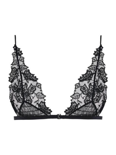 La Perla Floral Groove Triangle Bra | SaksFifthAvenue