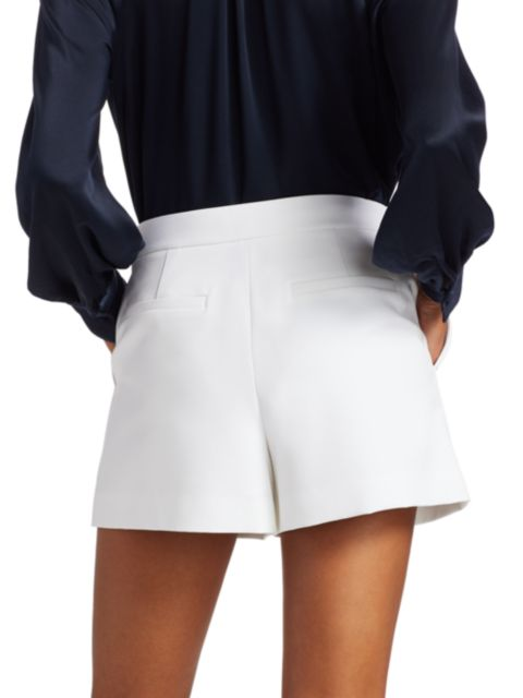 Milly Cady Aria Button Shorts | SaksFifthAvenue