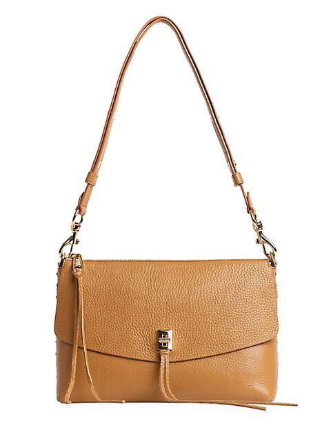 Darren Leather Shoulder Bag