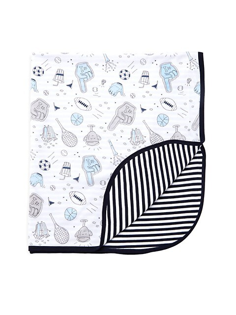 Sports-Print Double Layer Blanket