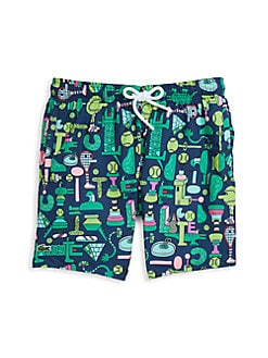 Glow in The Dark Midnight Mens Summer Casual Swimming Shorts Beach Board Shorts
