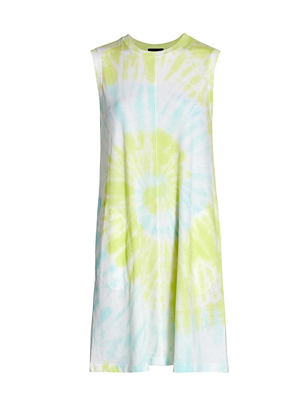 Atm Anthony Thomas Melillo WOMEN'S TIE-DYE TANK DRESS