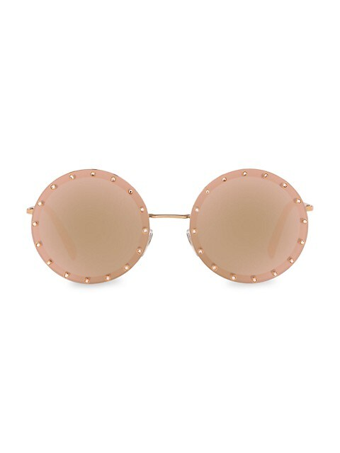 58MM Round Sunglasses
