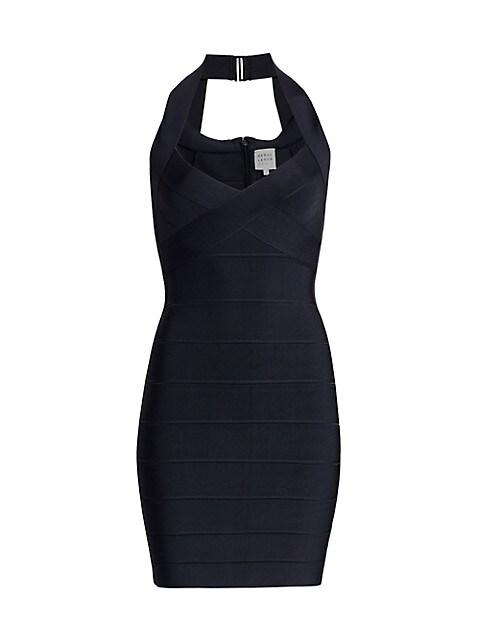 Icon Halter Mini Dress
