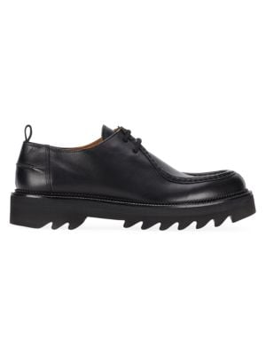Ami Alexandre Mattiussi Leather Chunky Derby Shoes