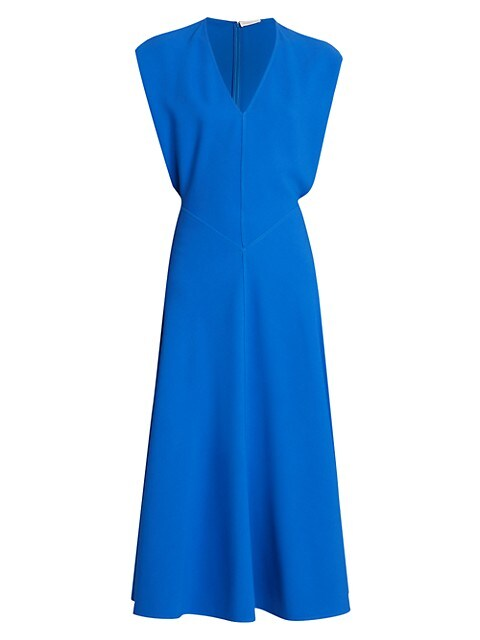 Sleeveless Dolman Midi Dress