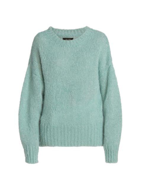 Isabel Marant Estelle Mohair-Blend Crewneck Sweater | SaksFifthAvenue