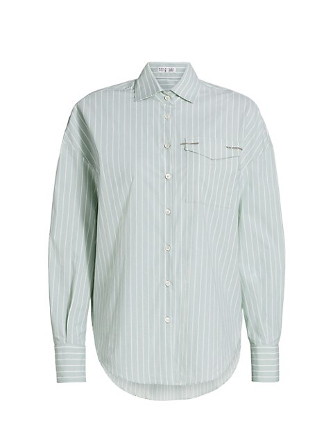 Striped Regular-Fit Monili Shirt