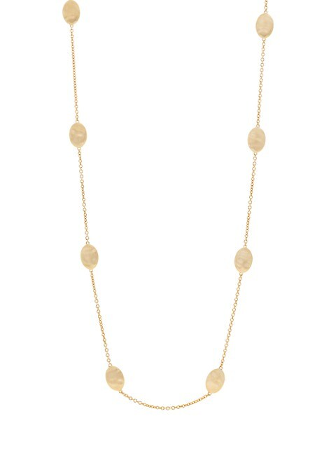 Siviglia18K Yellow Gold Station Necklace