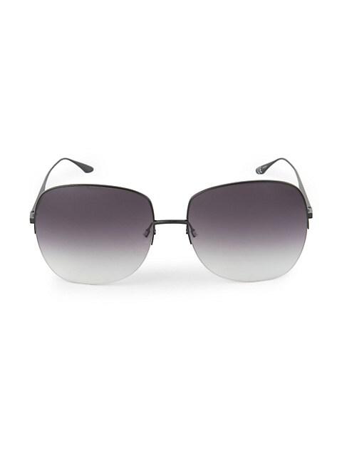 Harmonia 62MM Rimless Square Sunglasses