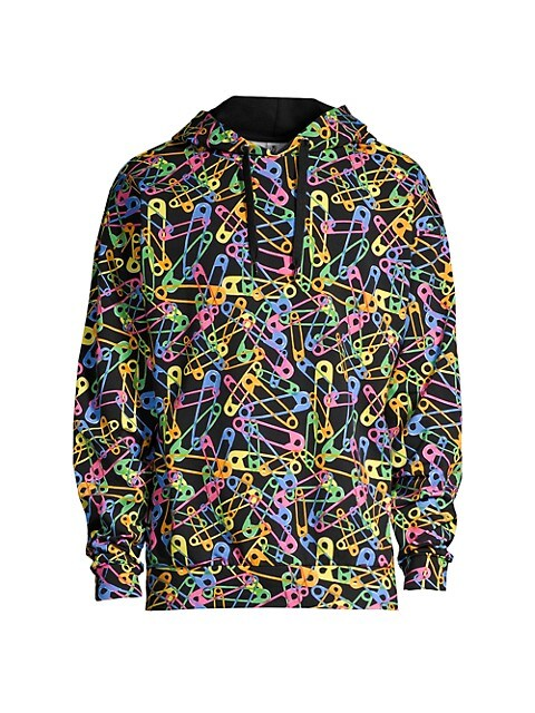 Neon Stretch Jersey Hoodie