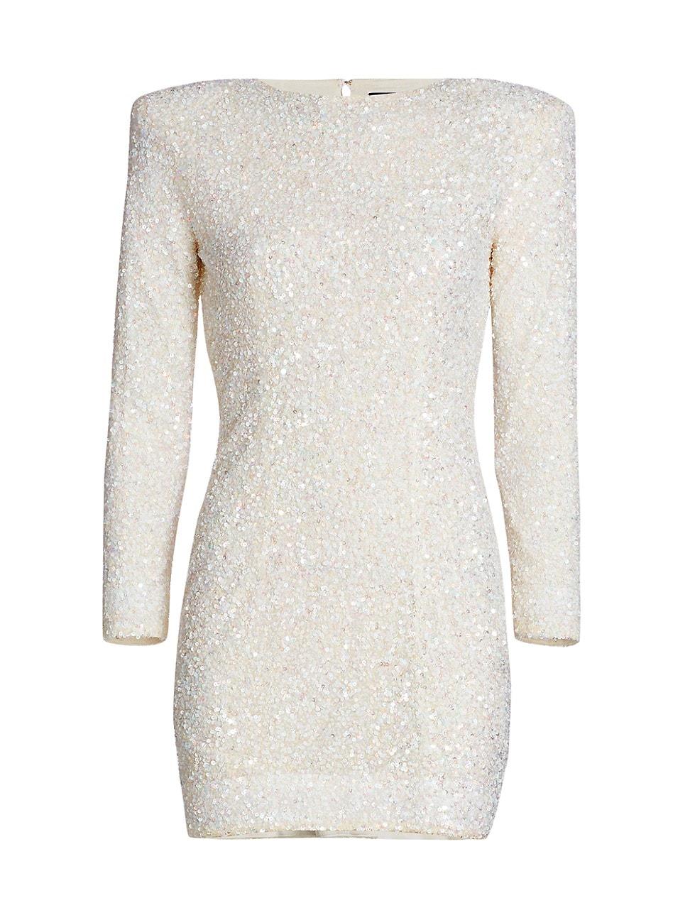 Retroféte Mini dresses WOMEN'S NIKKI SEQUIN MINI DRESS