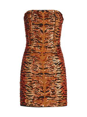 Retroféte Aurora Embroidered Dress