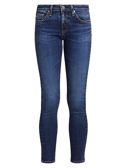 Legging Ankle Mid-Rise Skinny Jeans