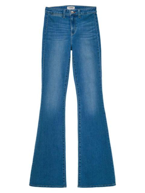 L'Agence Joplin High-Rise Flared Jeans | SaksFifthAvenue