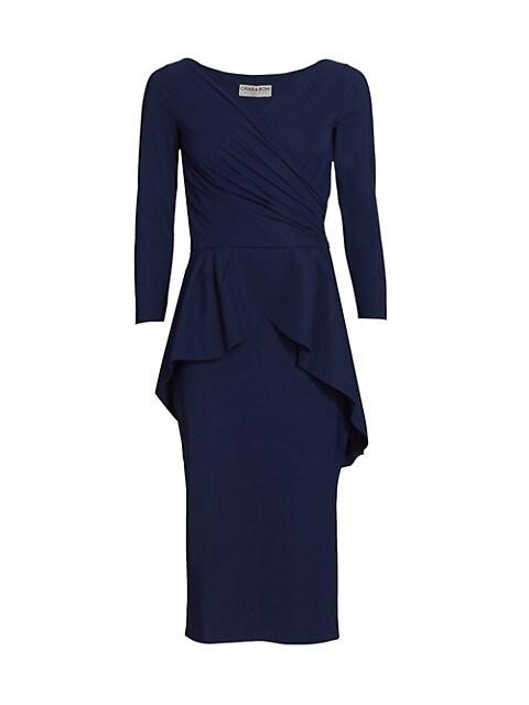 Duth Peplum Dress