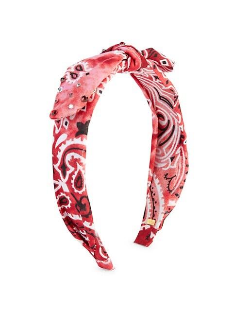 Bandana Knotted Crystal Headband