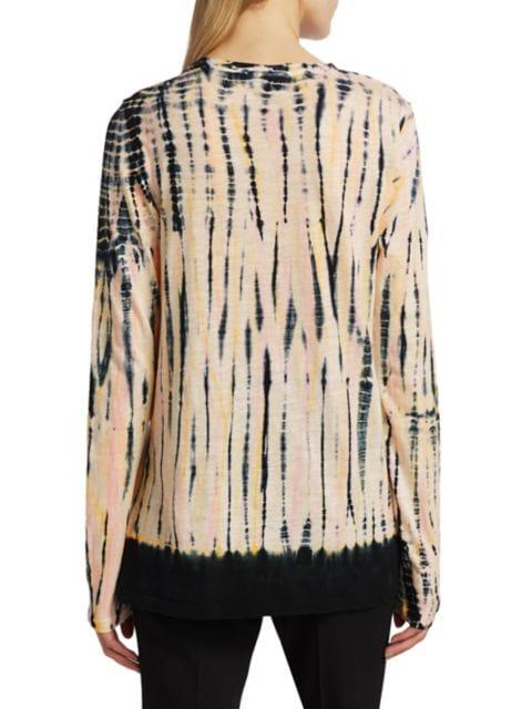 Proenza Schouler Tie-dye Tissue T-shirt | SaksFifthAvenue