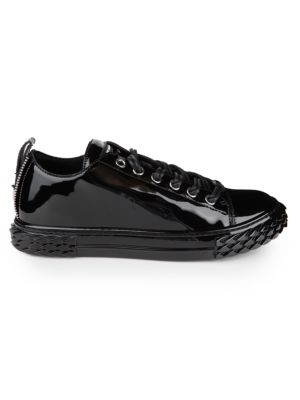 Giuseppe Zanotti Blabber Patent Leather Low-Top Sneakers