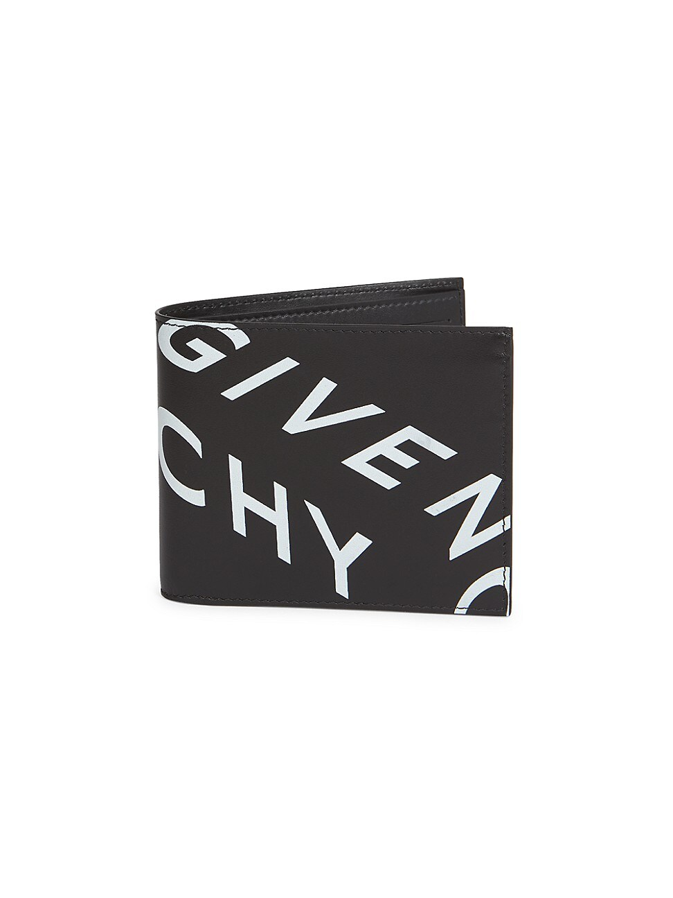 Givenchy Men's Logo Billfold Wallet In Black White