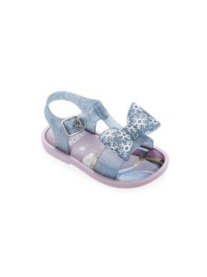 Happy bee Little Girls Blue Textured Studded Flowers Open Toe Sandals 5 Toddler-11 Kids