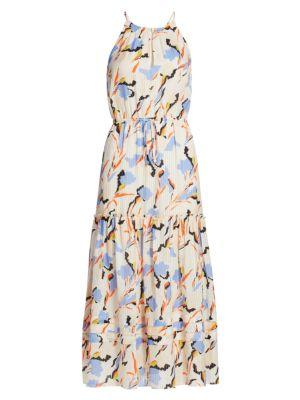 Joie Huston Floral Midi Dress