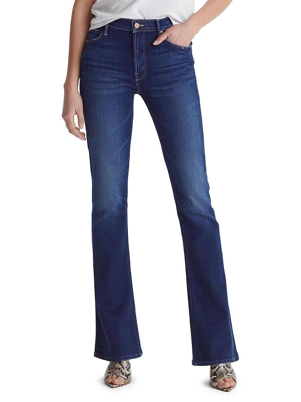 MOTHER WOMEN'S THE RUNAWAY BOOTCUT JEANS