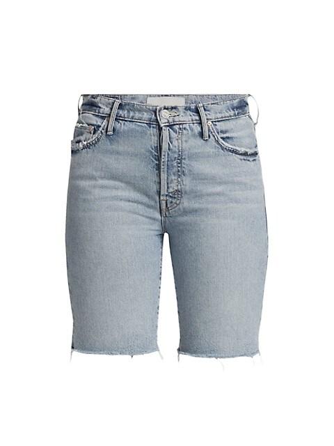 The Trickster Fray Denim Shorts