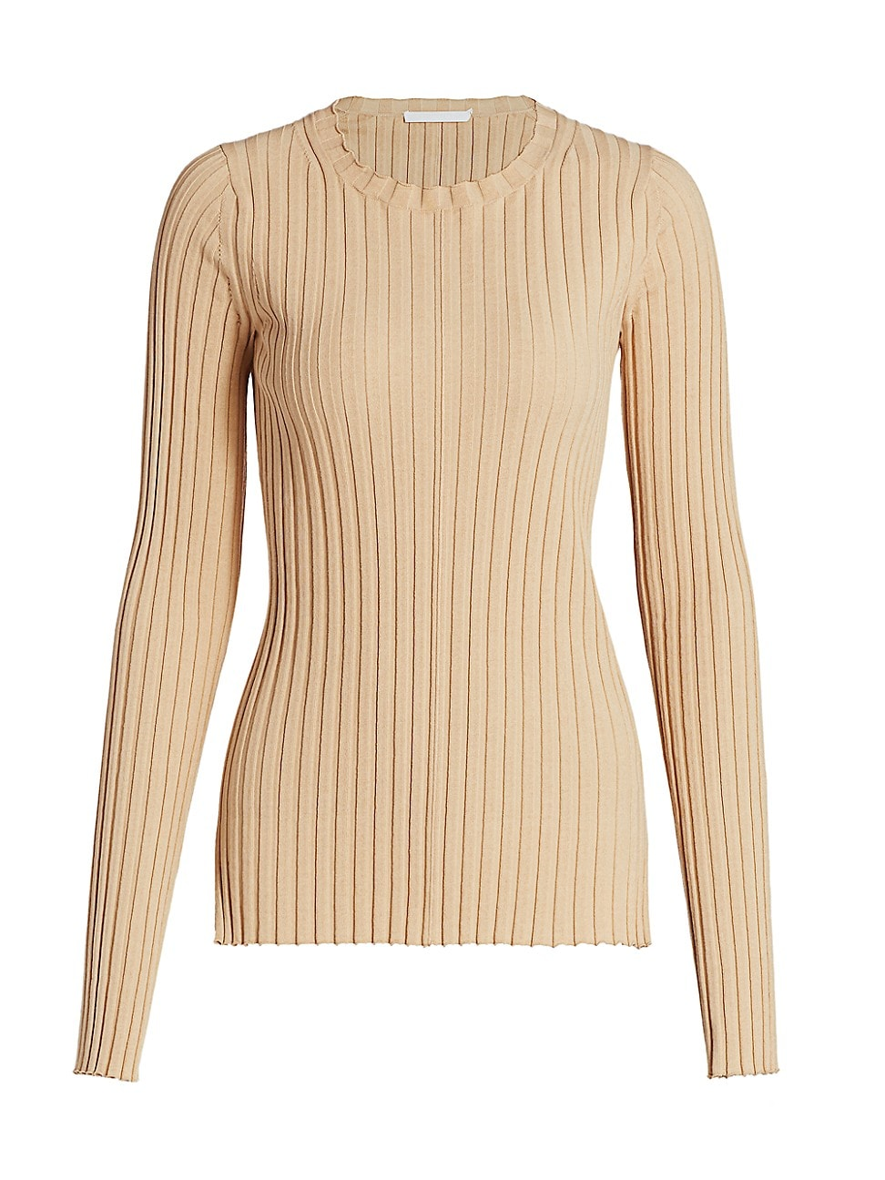 HELMUT LANG WOMEN'S RIBBED CREWNECK SWEATER