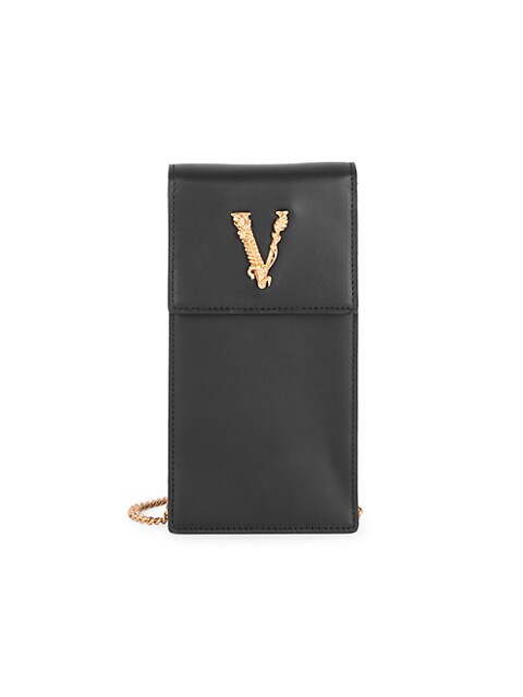 Small Virtus Leather Crossbody Phone Case