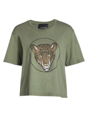 Le Superbe Auro Leopard T-Shirt