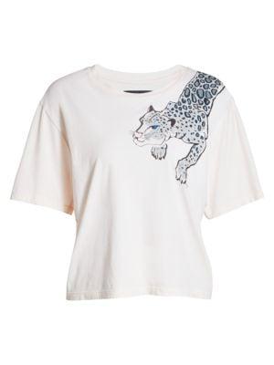 Le Superbe Painted Lil Leopard T-Shirt