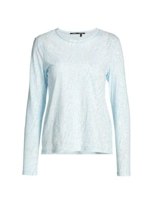 HangHisi The Rolling Stone Womens Long Sleeve T Shirts Cotton Round Neck Long Sleeved T Shirt