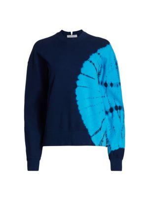 Proenza Schouler White Label Tie-Dye Sweatshirt