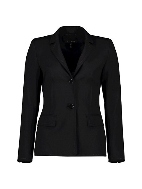 Brikenada Stitch Stretch-Wool Jacket